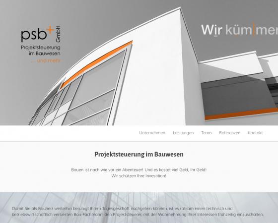 Website psb+ GmbH